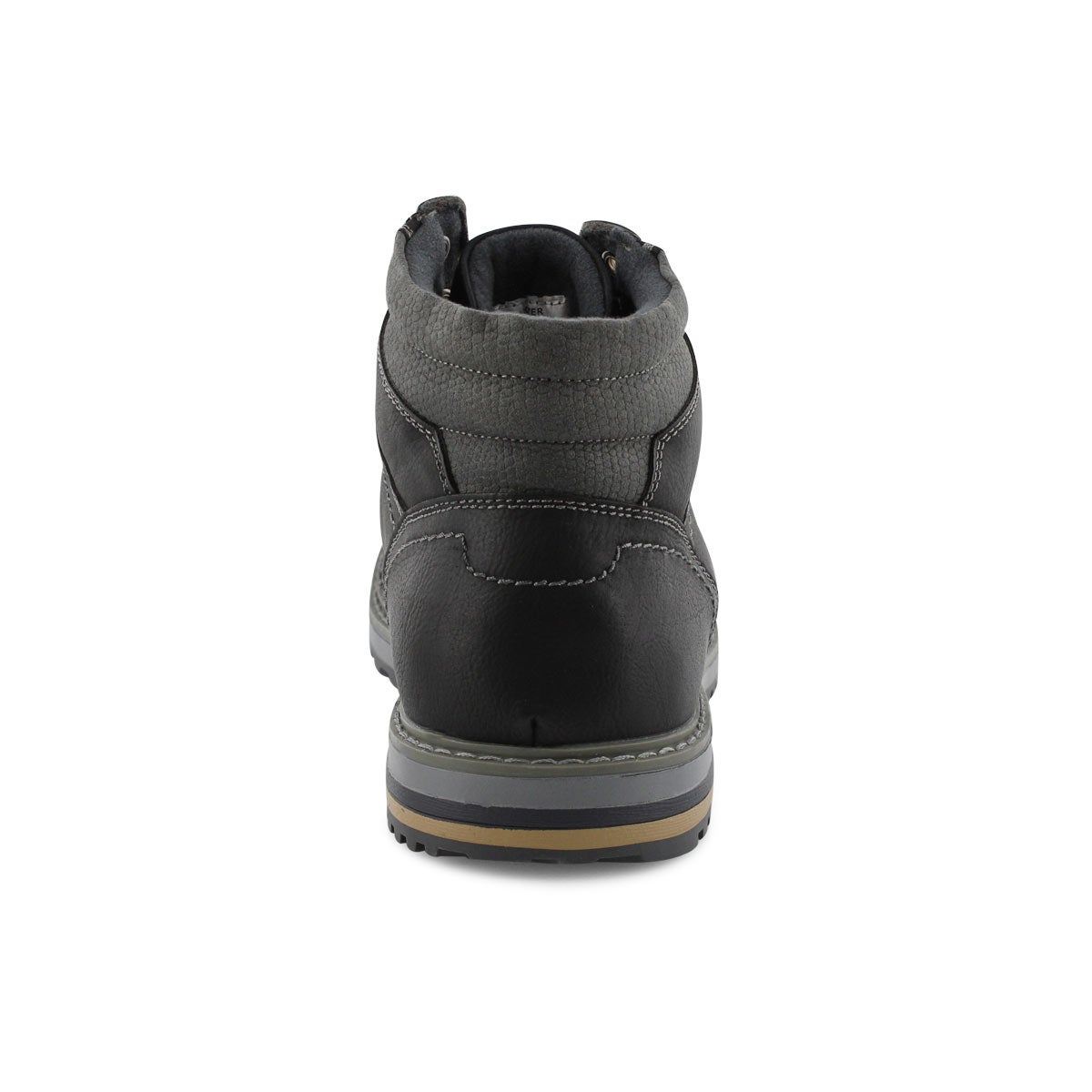 Mns Bulldozer black lace up ankle boot