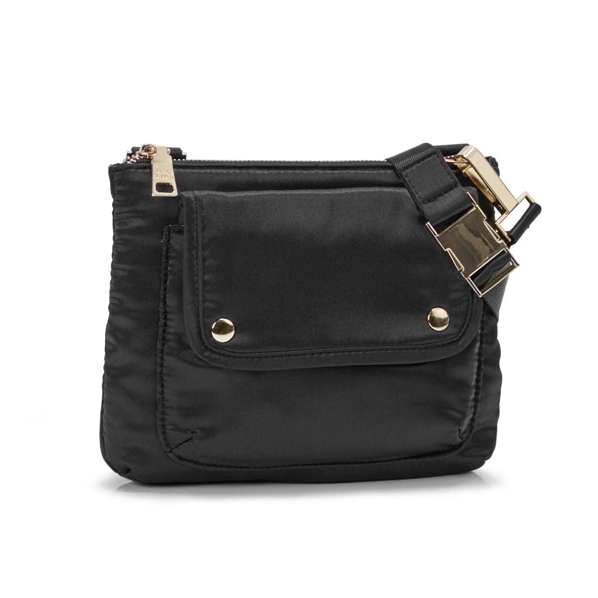 Lds BViola black cross body bag