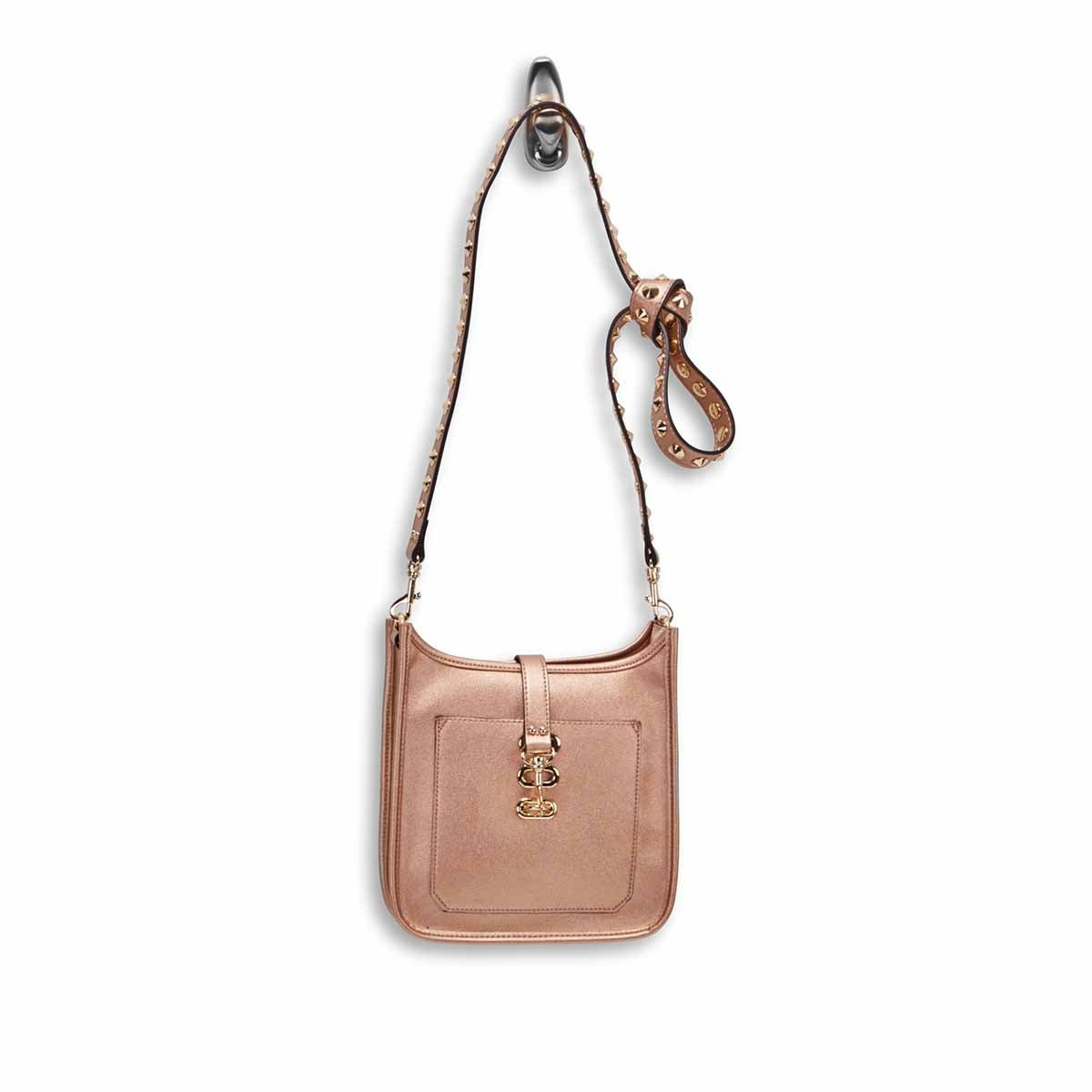 Lds BWylie rosegold small cross body bag