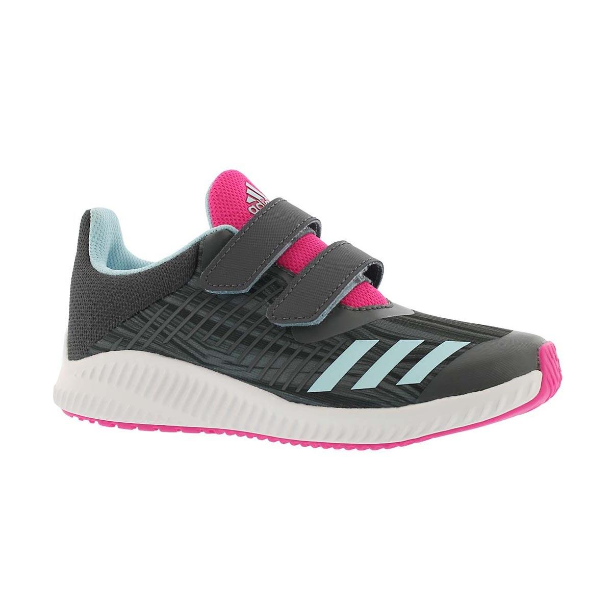 Girls' FORTA RUN CF grey/blue sneakers