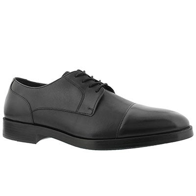 Mns Henry Grand Cap bk/bk dress oxford