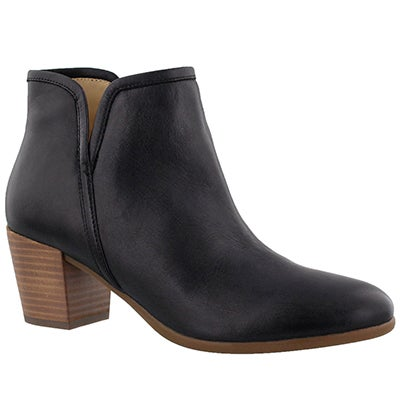 Lds Lucinda black dress bootie