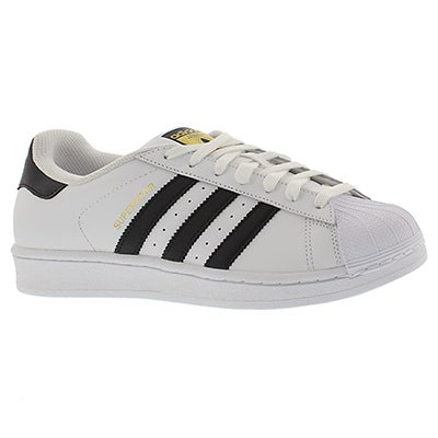 Mns Superstar wht/blk fashion sneaker