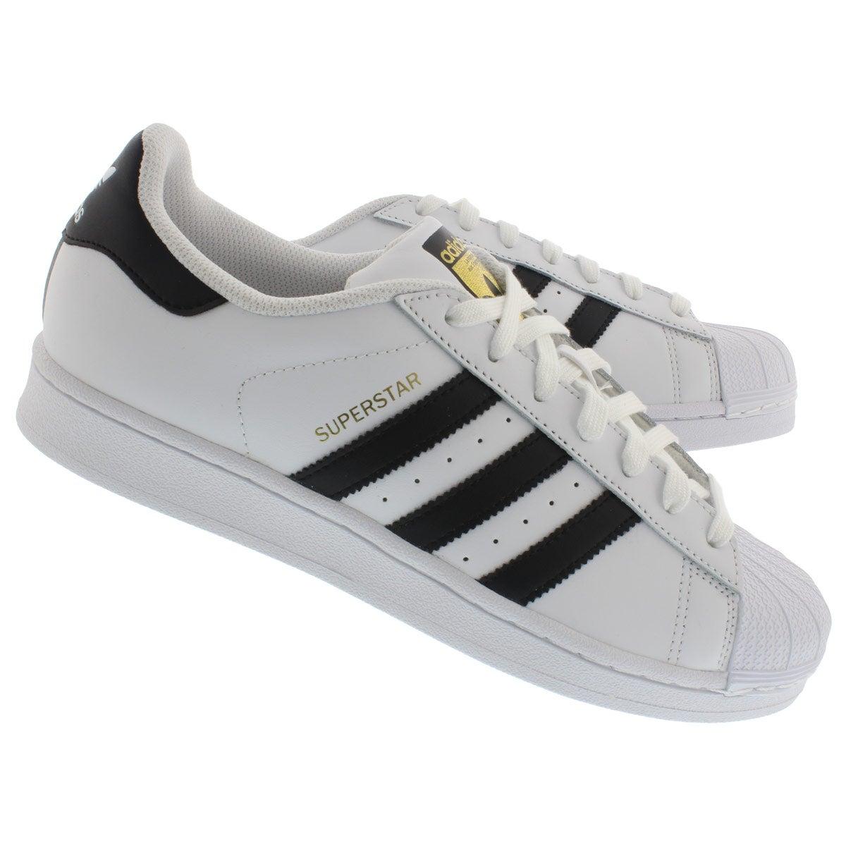 Espadrilles Superstar, blanc/noir, hom