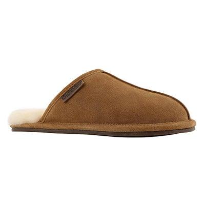Mns Cadel chesnut open back slipper