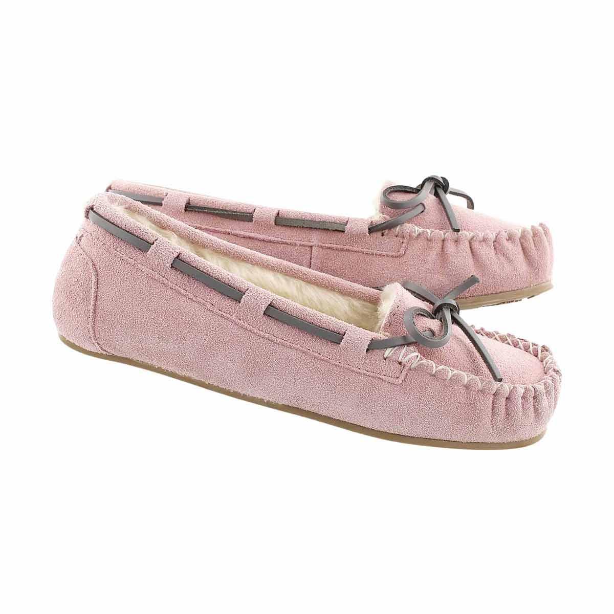 Grls Cady2 Pink ballerina moccasin