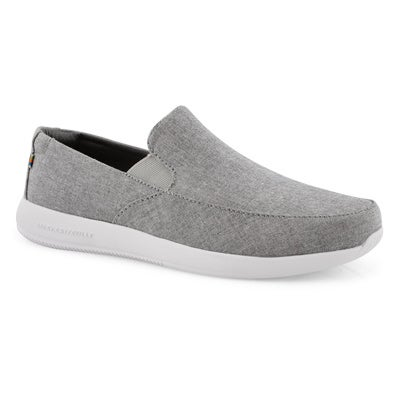 Mns Cage grey casual slip on