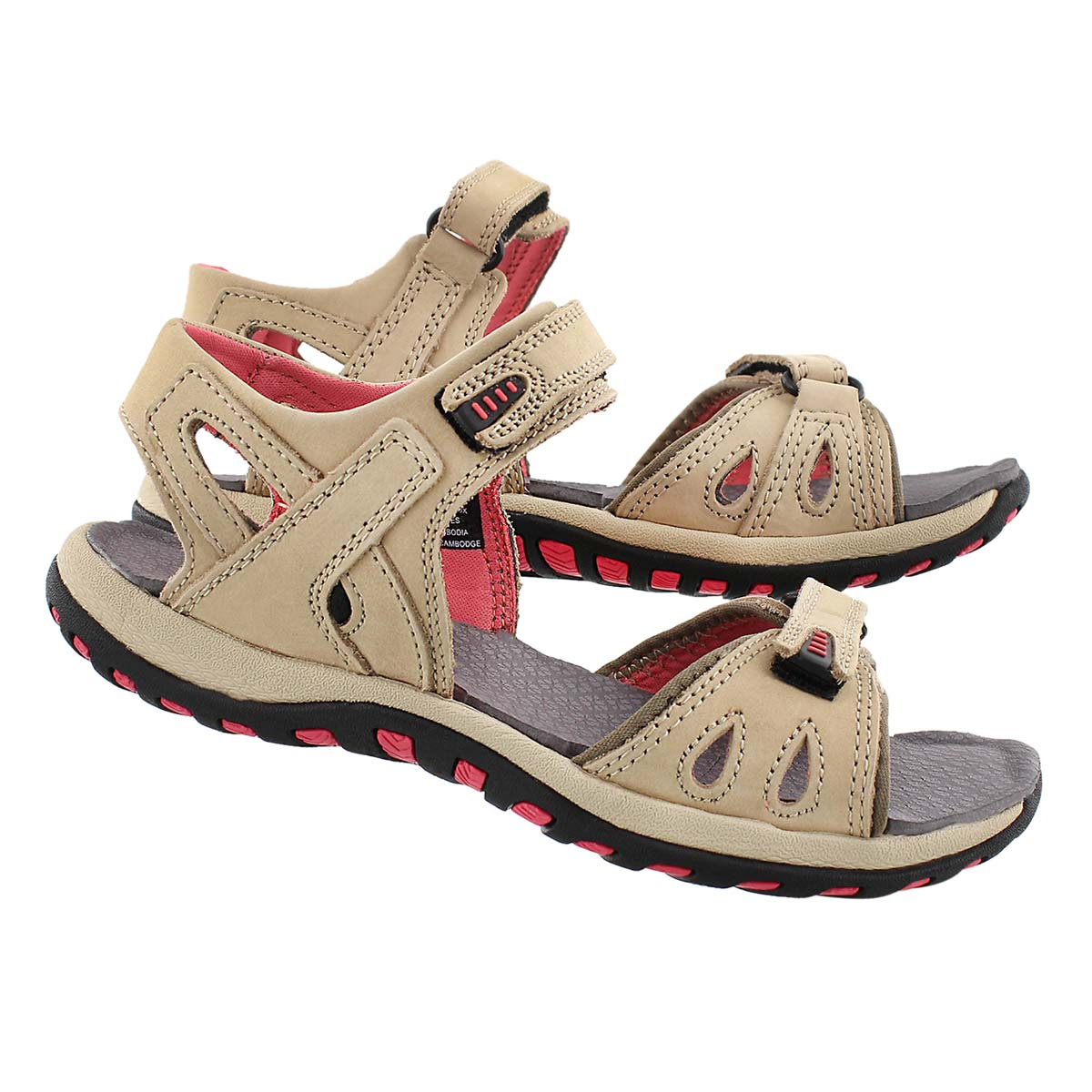 Sandale sport CALEY 2, taupe, femmes