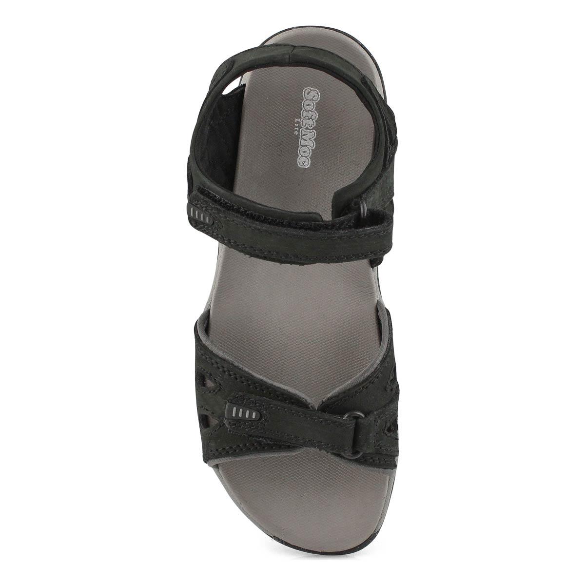 Lds Caley 3 black sport sandal