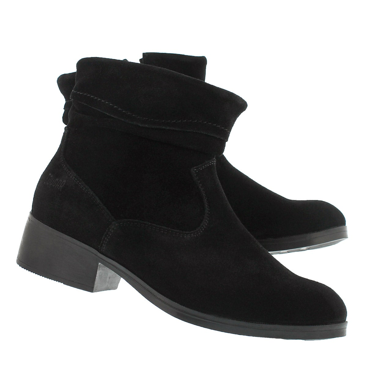 Lds Calinda blk wtpf ankle boot