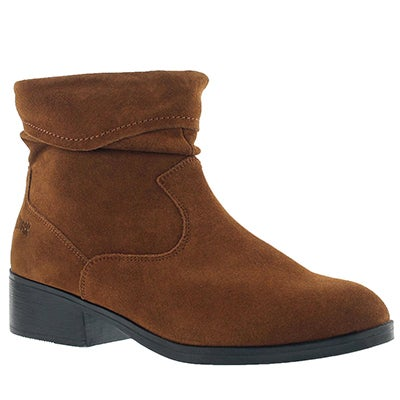 Cougar Women's CALINDA chestnut waterproof ankle boots