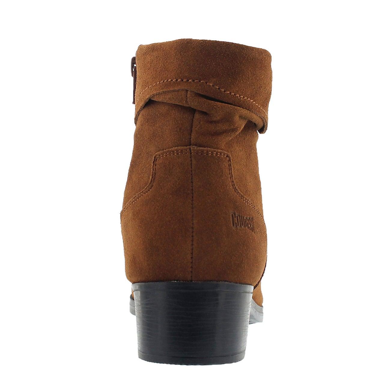 Lds Calinda chestnut wtpf ankle boot