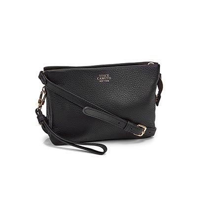 Lds Cami black small cross body bag