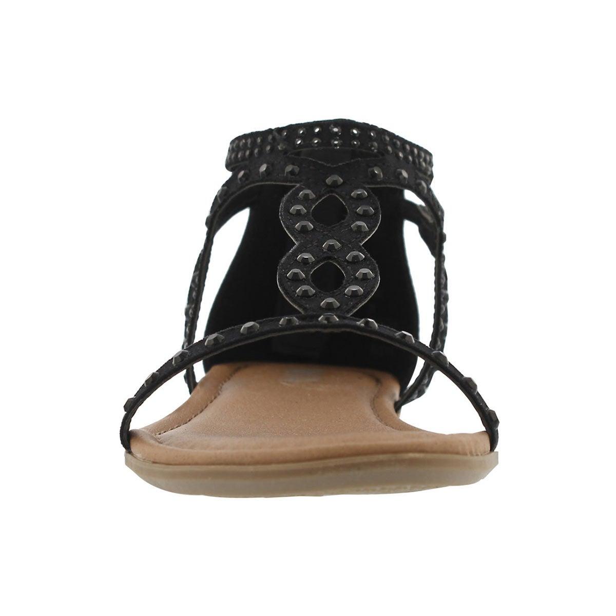 Grls Cammie black dress sandal