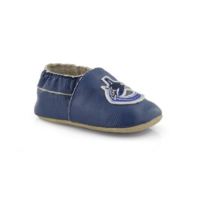 Infs Canucks blue slipper