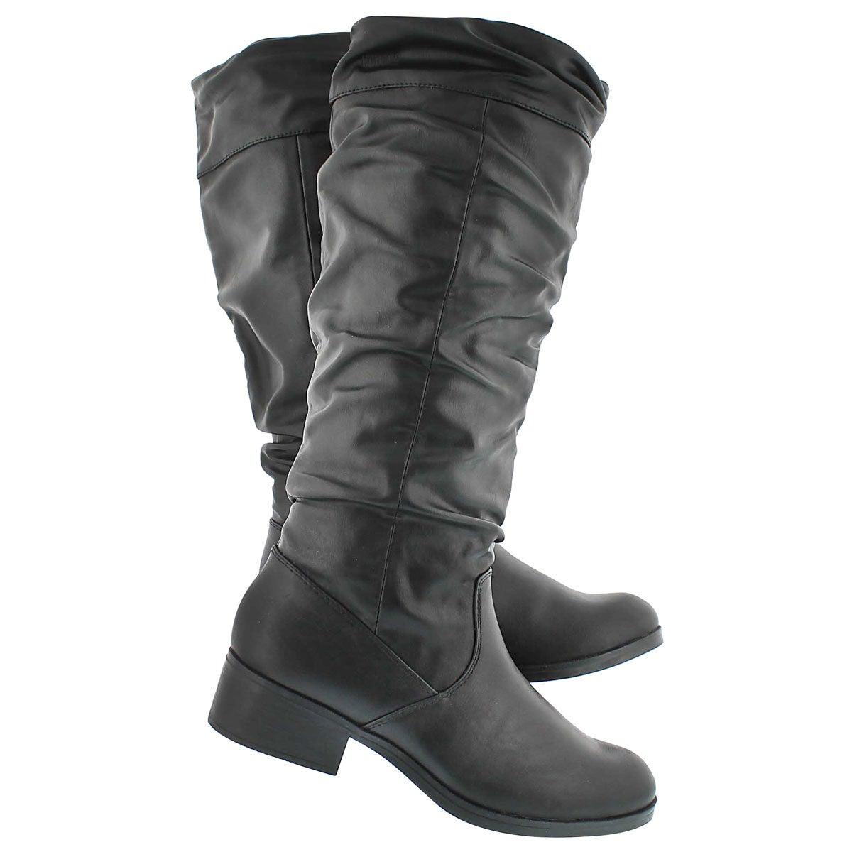 Lds Carla black wtpf tall dress boot