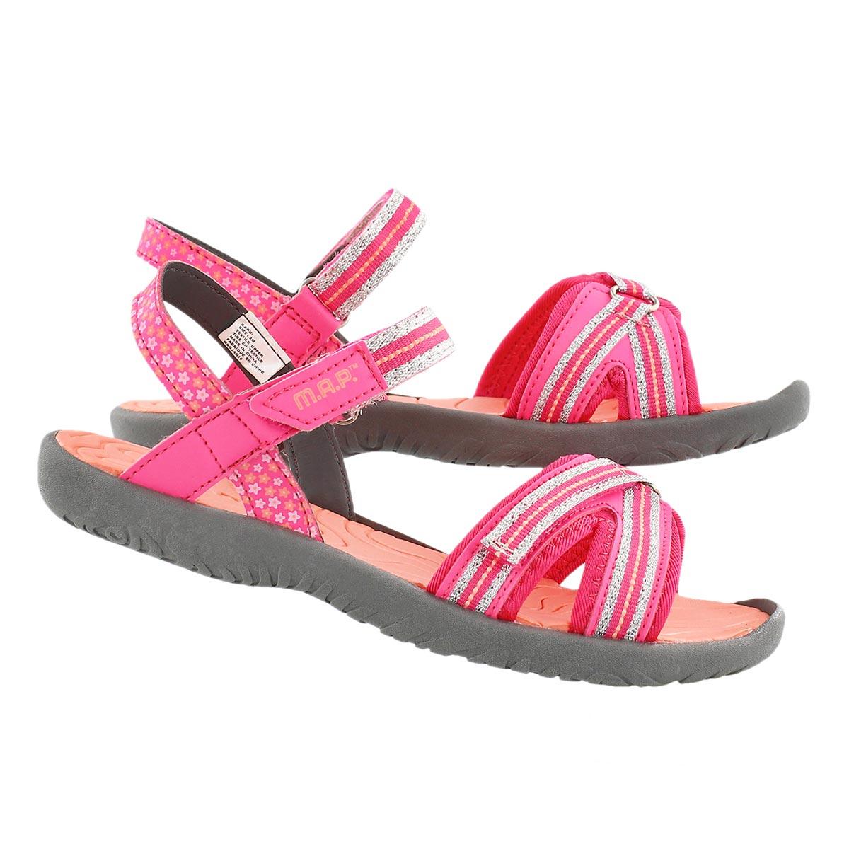 Sandale CARMI, rose/corail, filles