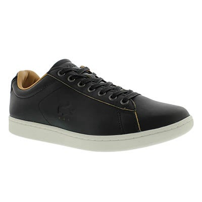 Lacoste Men's CARNABY EVO 3 black fashion sneakers