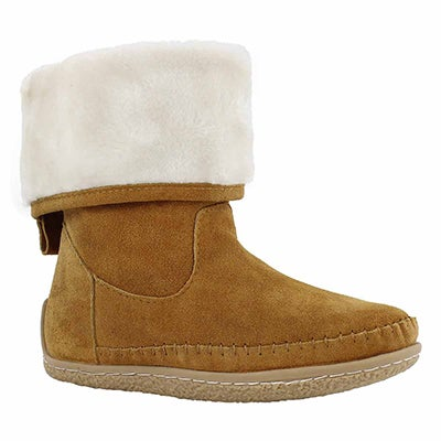 Lds Carolina chsnt foldover mukluk boot