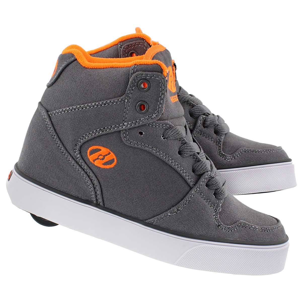 Bys Cart grey/orange skate sneaker