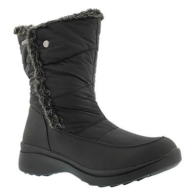 SoftMoc Women's CASSIE black waterproof lined winter boots