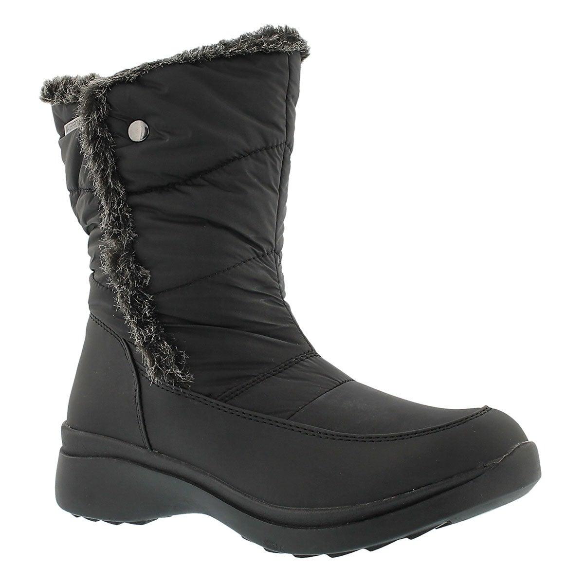 Lds Cassie blk wtpf lined winter boot