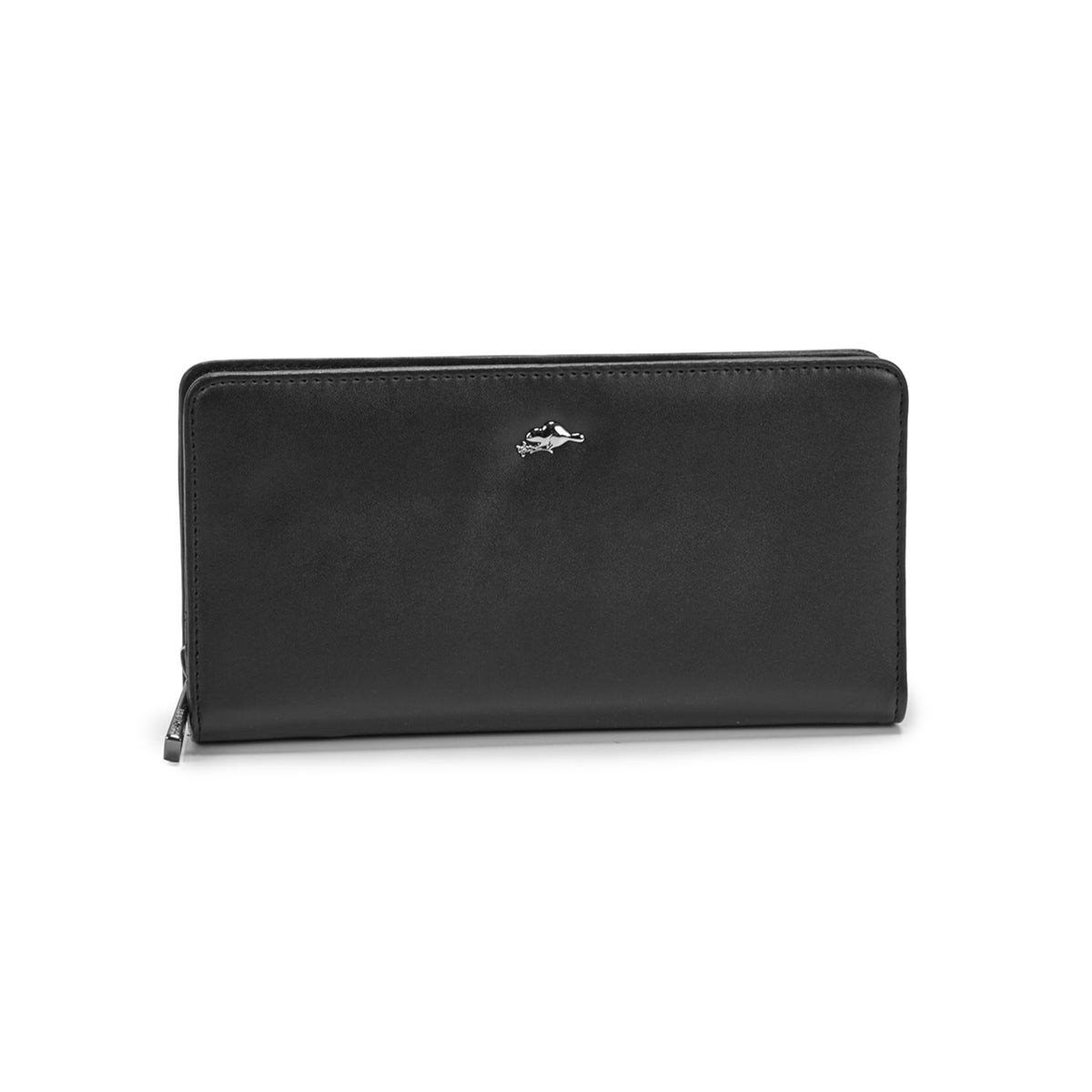 Women's CAVERN black clutch wallet