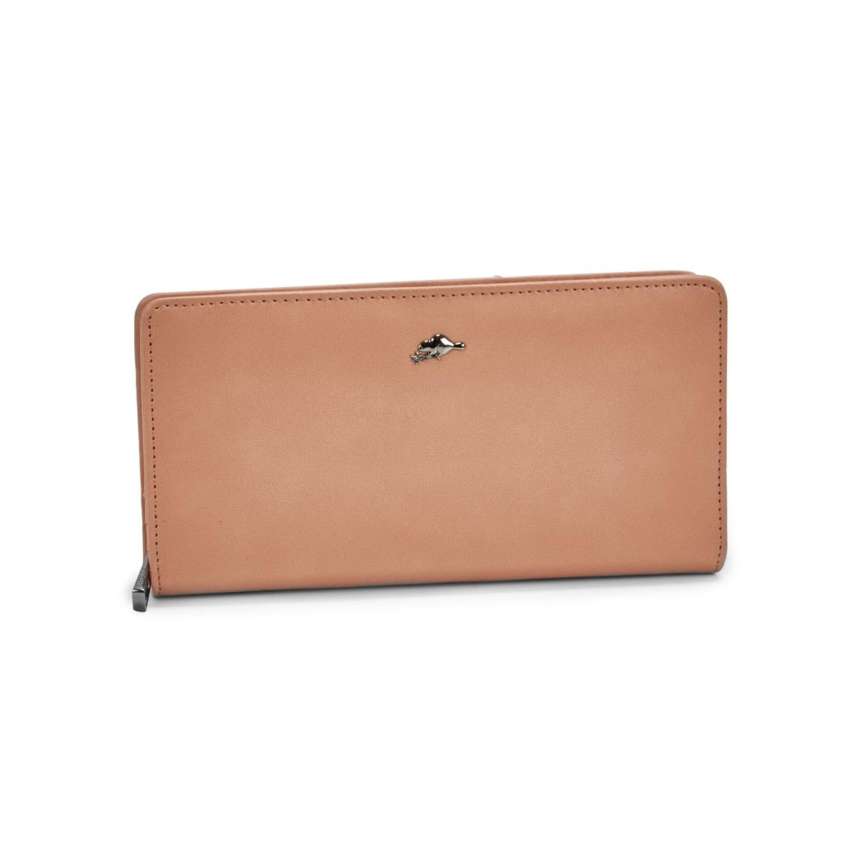 Women's CAVERN blush clutch wallet
