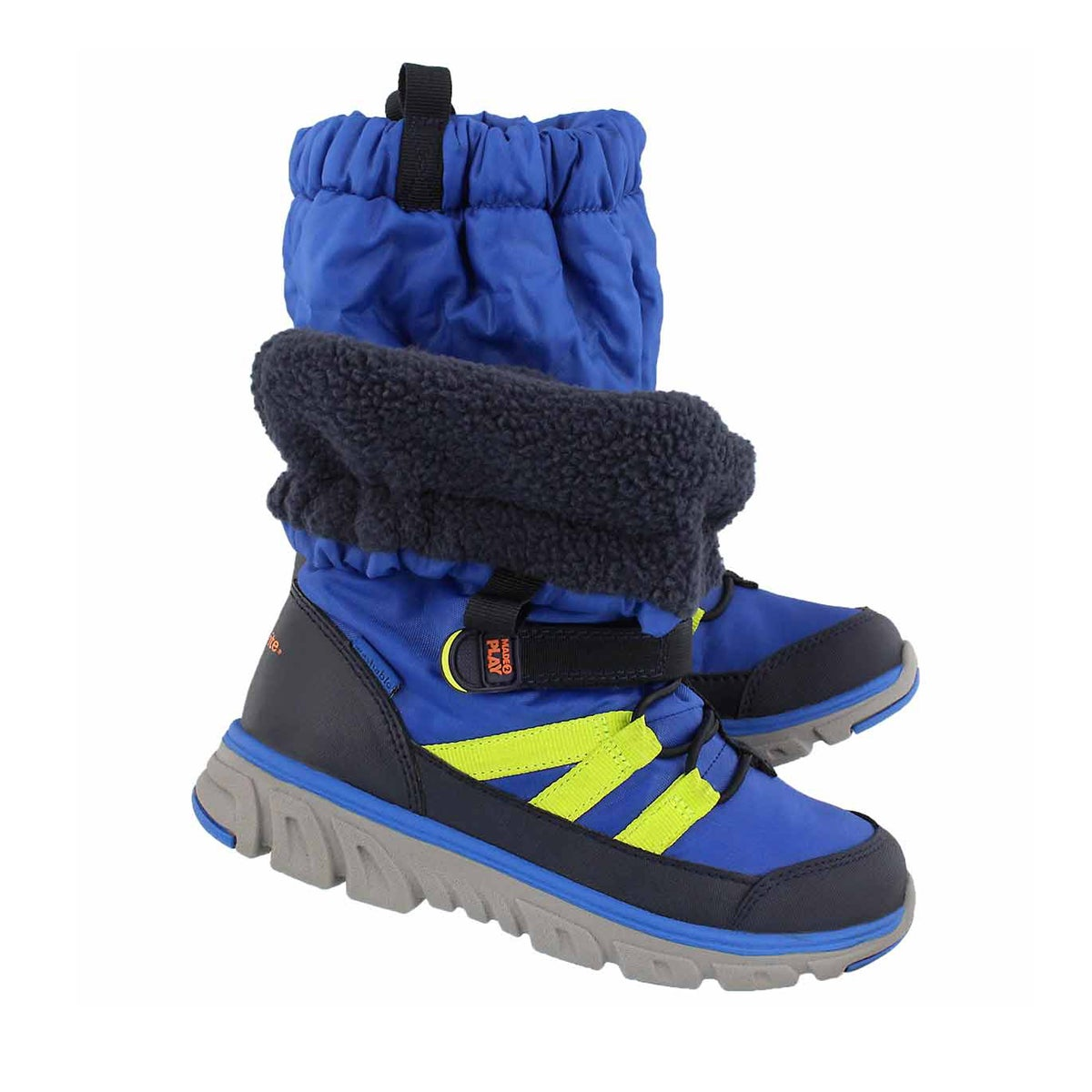Bys M2P Sneaker Boot blue winter boot