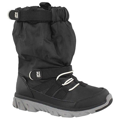 Stride Rite Boys' M2P SNEAKER BOOT black winter boots