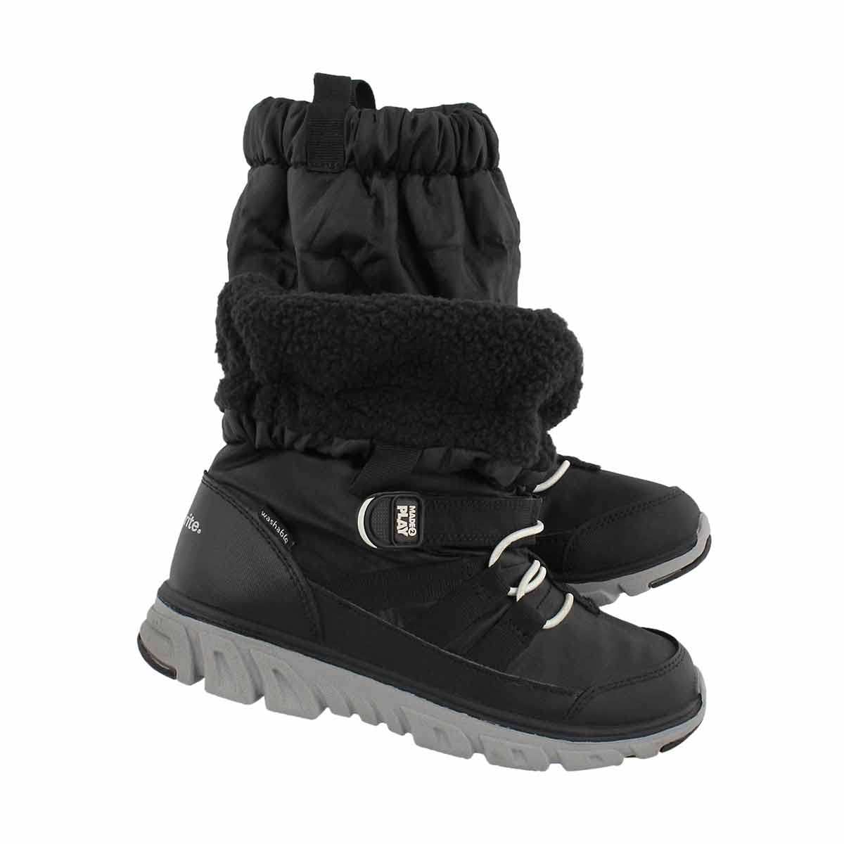 Bys M2P Sneaker Boot black winter boot