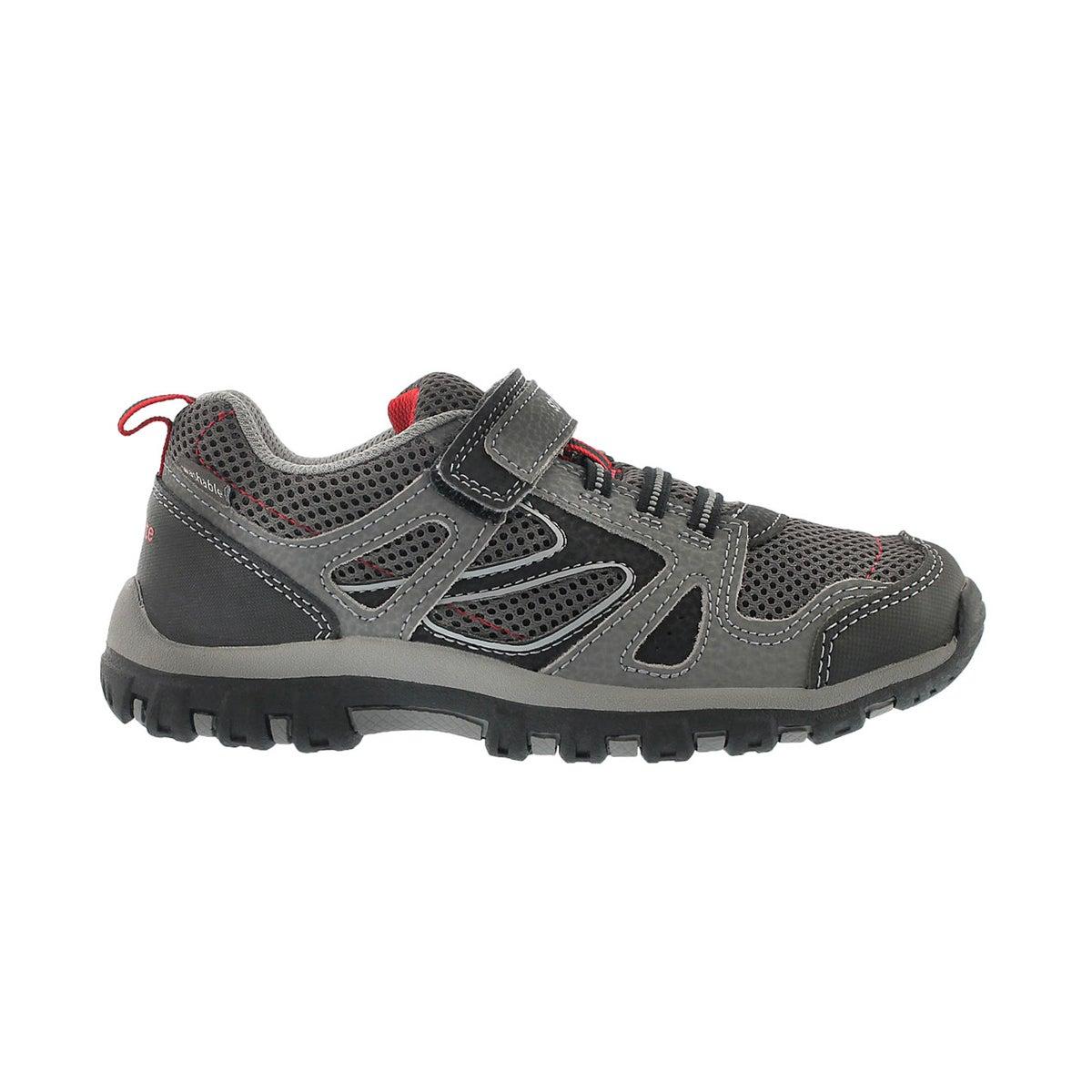 Bys M2P Artin grey hook & loop sneaker