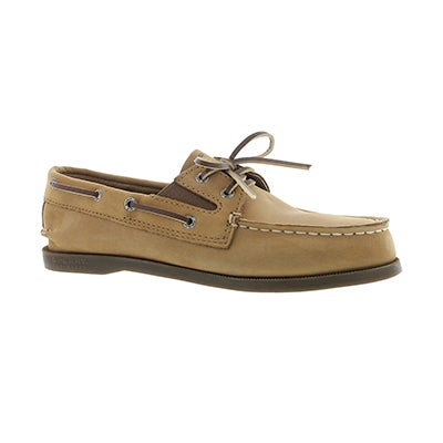 Sperry Boys' AUTHENTIC ORIGINAL SLIP ON sahara boat shoes