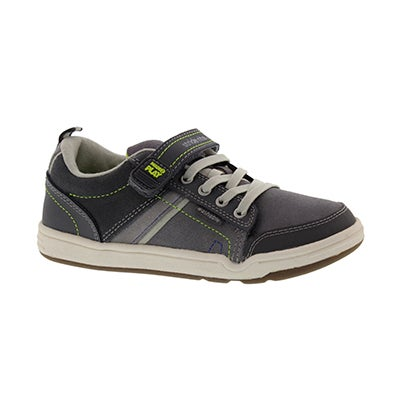 Stride Rite Boys' M2P KALEB grey sneakers
