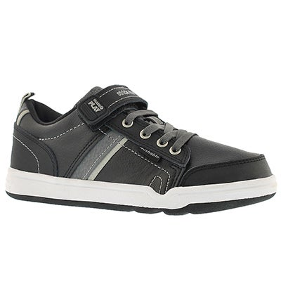 Stride Rite Boys' M2P KALEB black sneakers