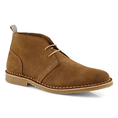 Lds Celia cognac lace up chukka boot