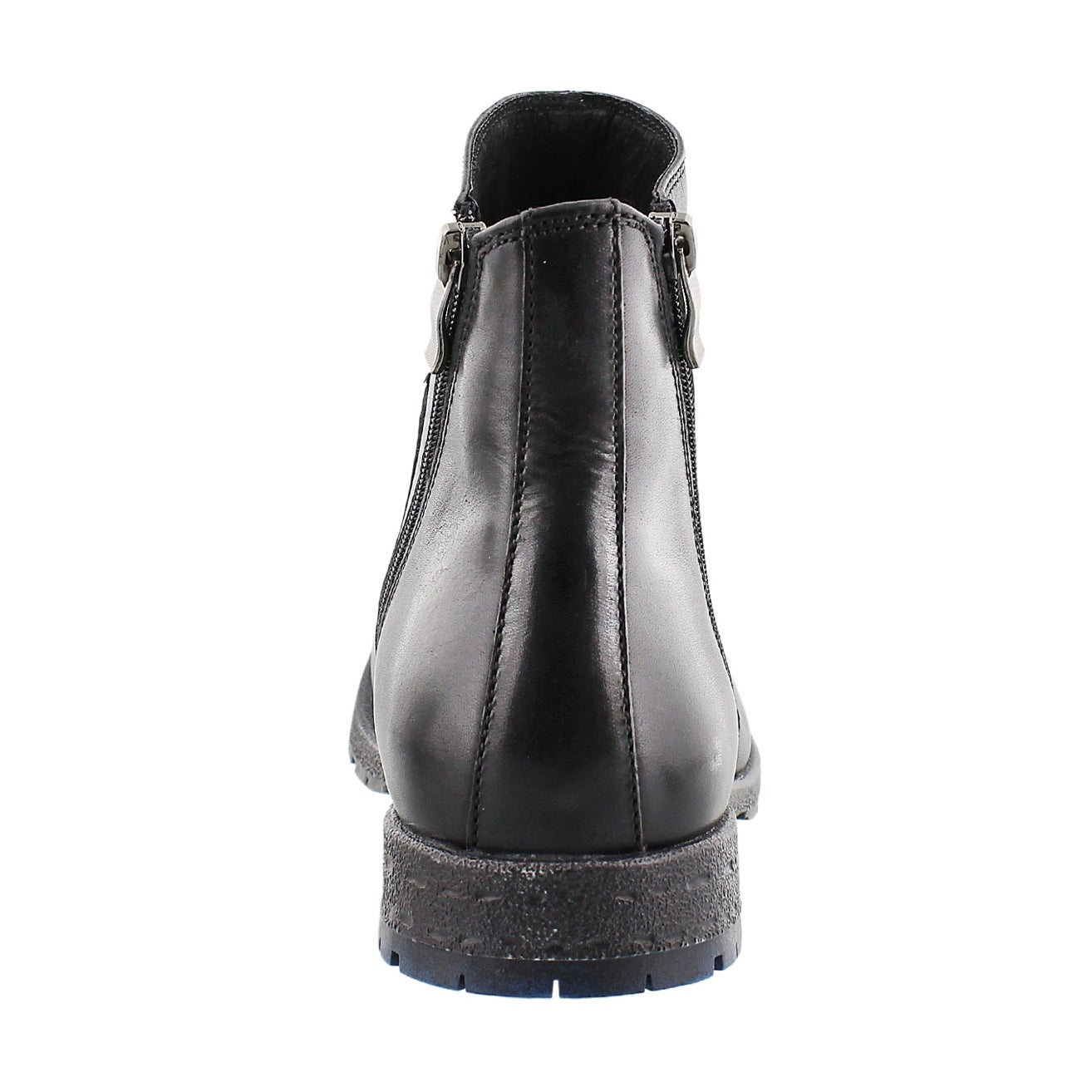 Mns Cesar black lthr casual ankle boot