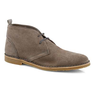 Mns Cesare grey lace up chukka boot