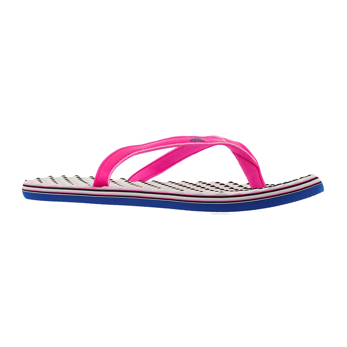 Lds Eezay Dots pink/navy thong sandal