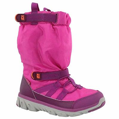 Grls M2P Sneaker Boot pink winter boot