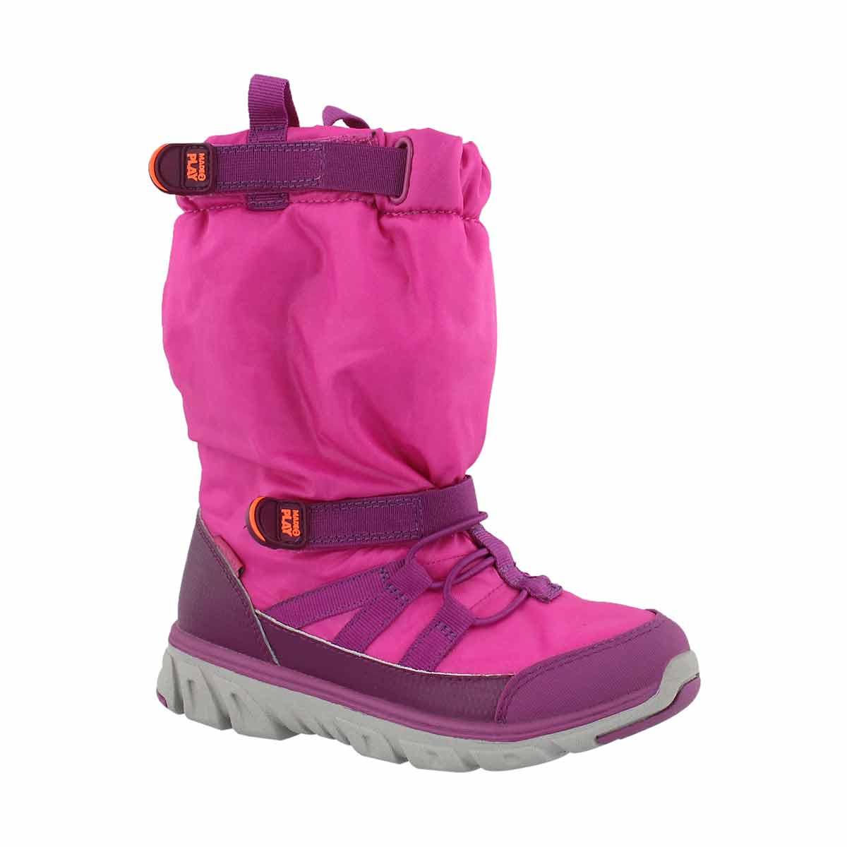 Girls' M2P SNEAKER BOOT pink winter boots