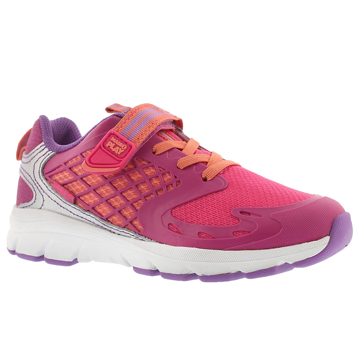Girls' M2P CANNAN pink sneakers