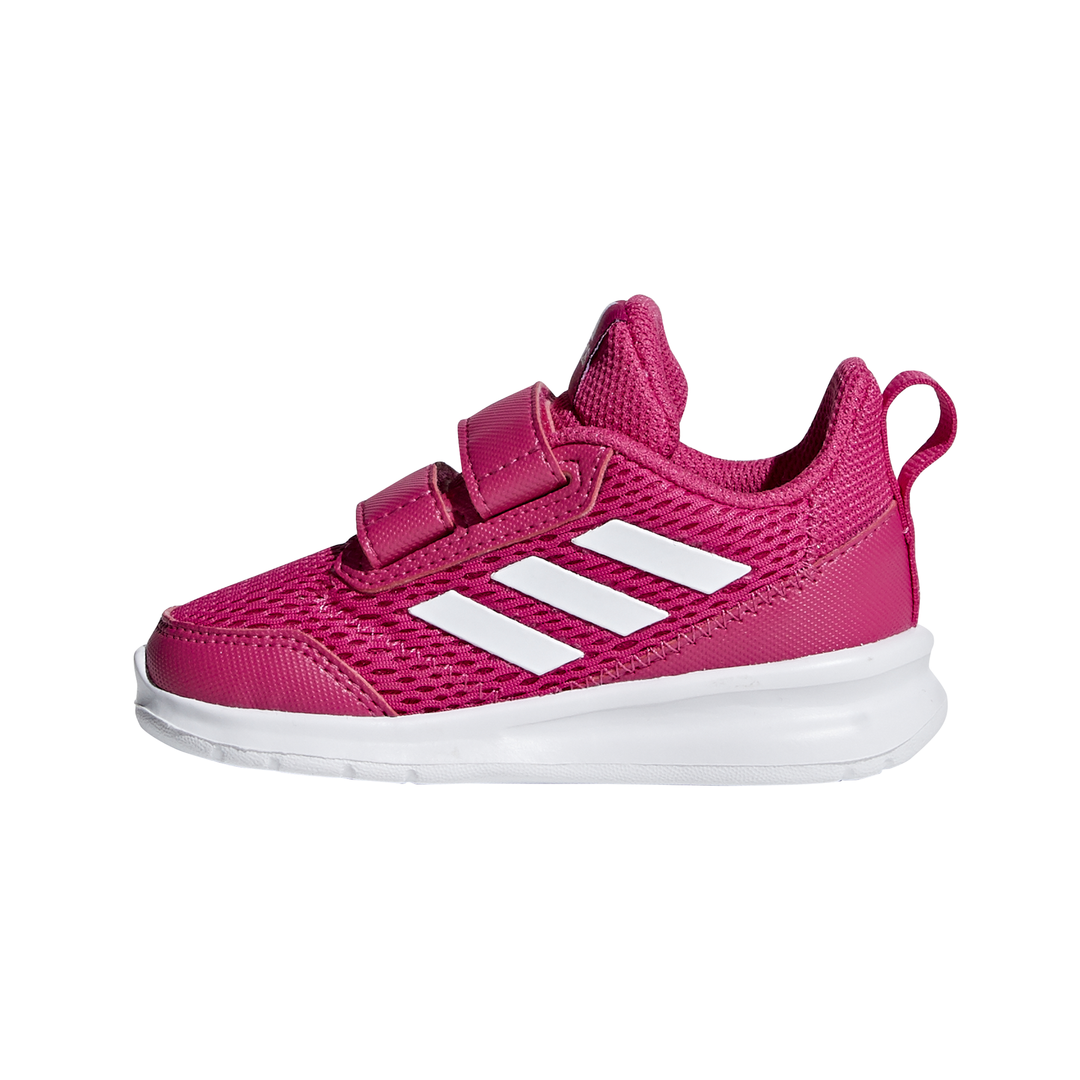 Kids' Clothes, Shoes & Accs. Children's Adidas Kids Girls Alta Run Cf Infant Trainers Runners Padded Ankle Collar Hook Big Clearance Sale