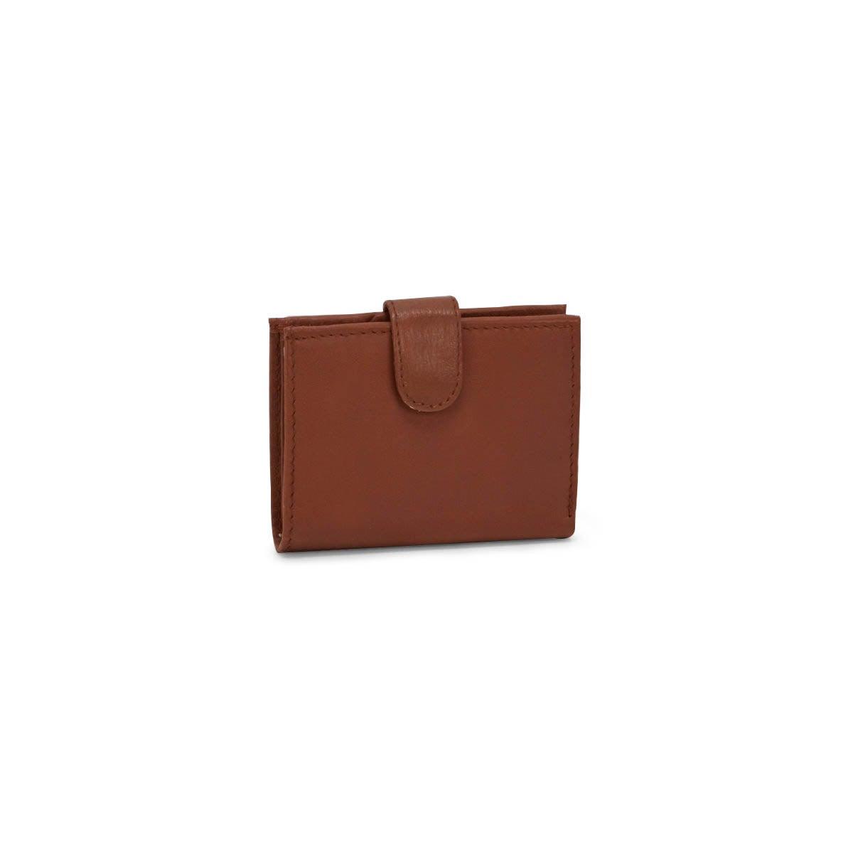 Mns tan RFID cardholder wallet