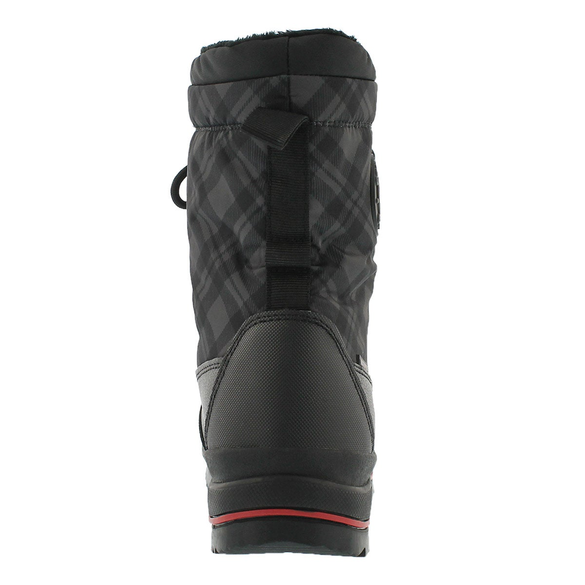 Lds Chambly blk plaid wtpf winter boot