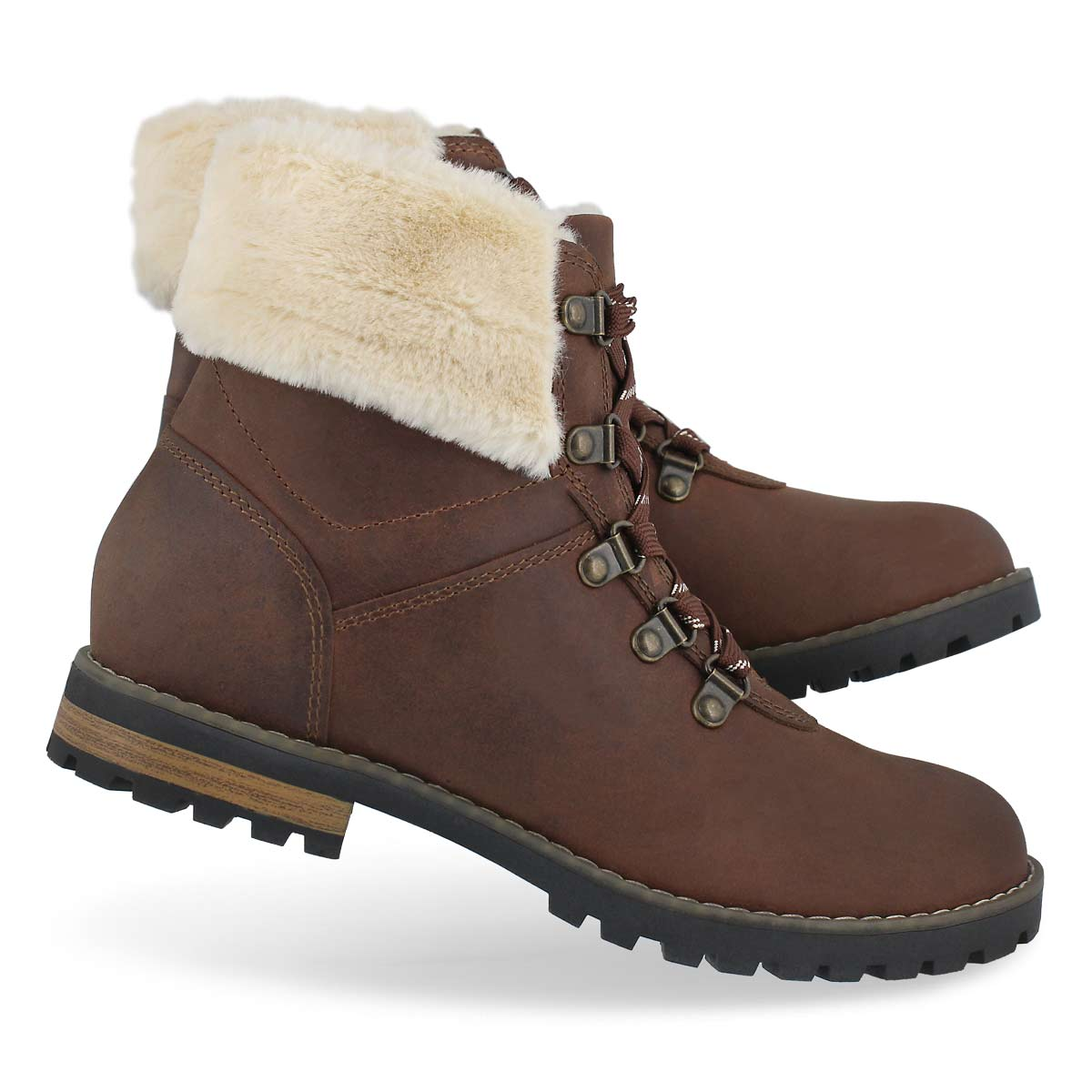 Lds Chambly brown wtpf winter boot