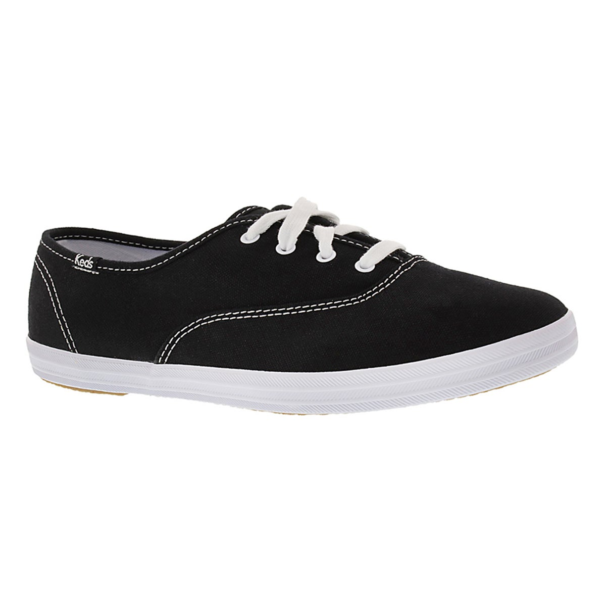 Women's CHAMPION OXFORD black sneakers -Extra Wide