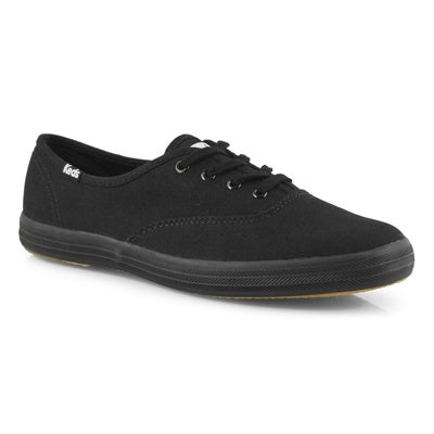 Lds Champion blk/blk canvas CVO sneaker