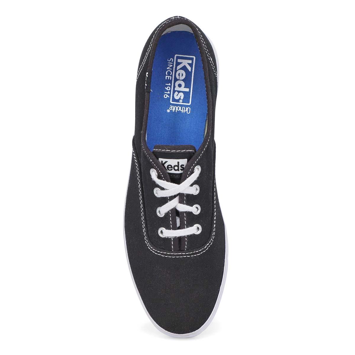 Lds Champion black canvas CVO sneaker