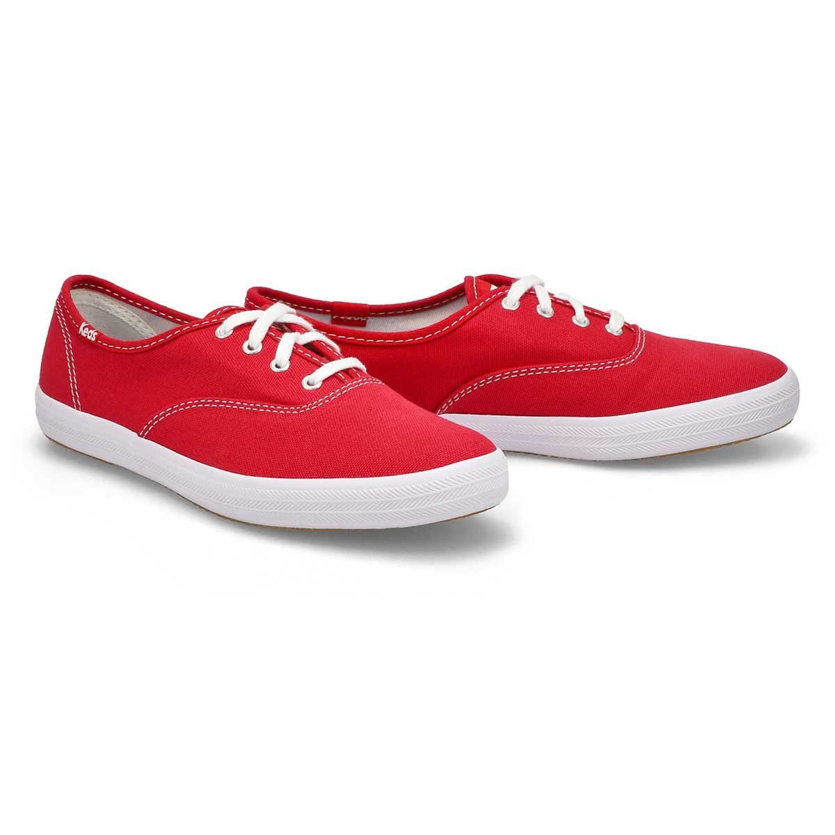 Lds Champion red canvas sneaker